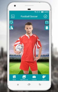 Football Photo Editor - Soccer Photo Suit Screenshot