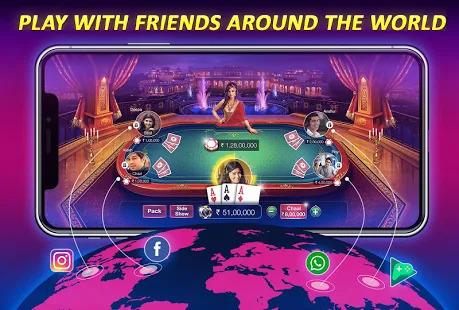 Teen Patti Gold - 3 Patti, Poker, Rummy Card Game Screenshot