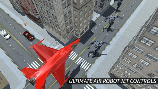 Air Robot Game - Flying Robot Transforming Plane Screenshot