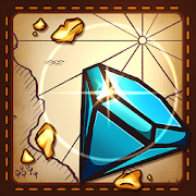 Jewels and gems - match jewels puzzle