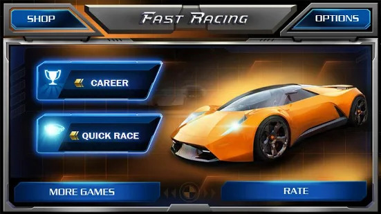 Fast Racing 3D Screenshot