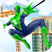 Amazing Spider Rope Fighter: Super Crime City Hero