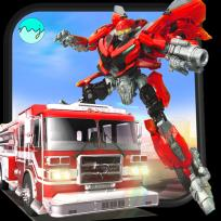Games lol | Game » Robot Firefighter Rescue Fire Truck