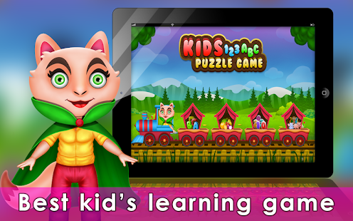 Games lol | Game » Kids 123 ABC Puzzle game