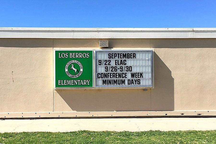 Los Berros Elementary School