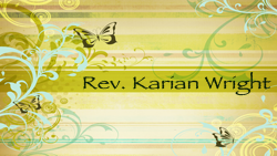 Rev. Karian Wright