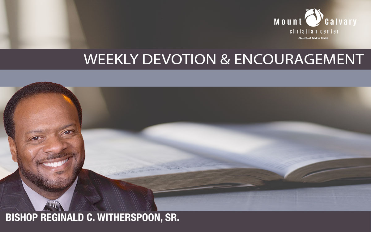 Devotionals from Bishop Witherspoon