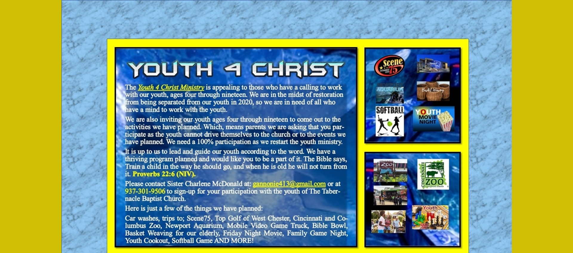 Youth 4 Christ Events