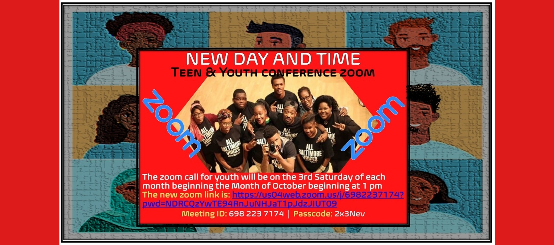 TBC Teen & Youth Zoom Conference Red