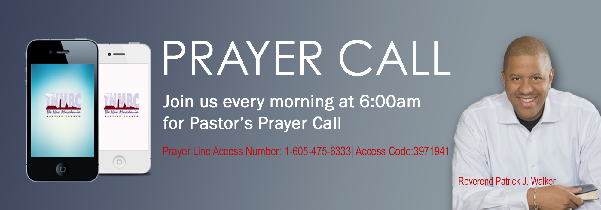 Pastor's Prayer Call
