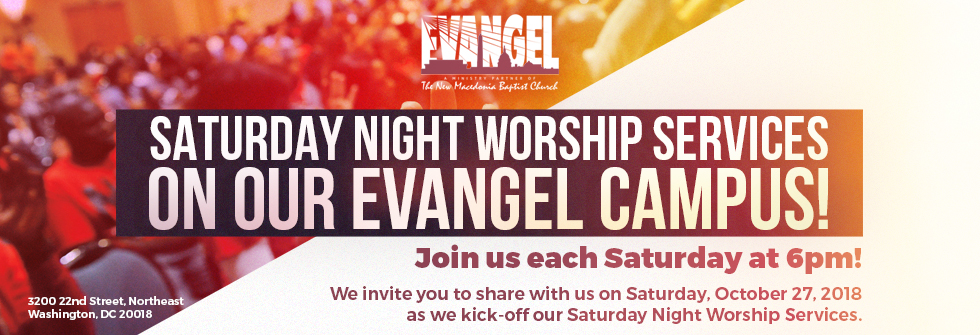 Saturday Night Worship Services