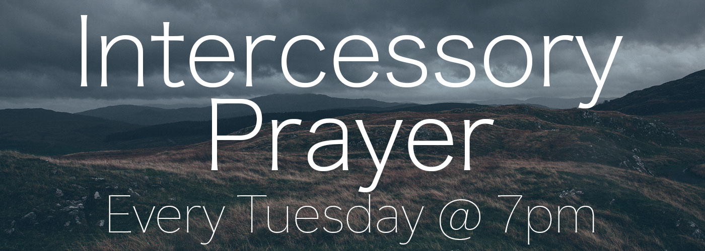 Intercessory Prayer 2018