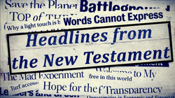 Headlines from the New Testament