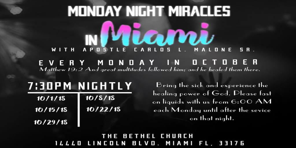Monday Night Miracles
