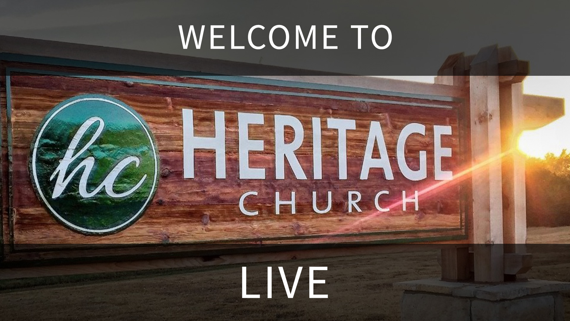 Welcome to Heritage Church Shawnee Live