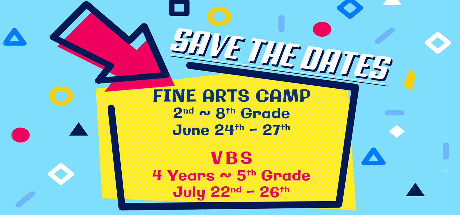 VBS Save the Date