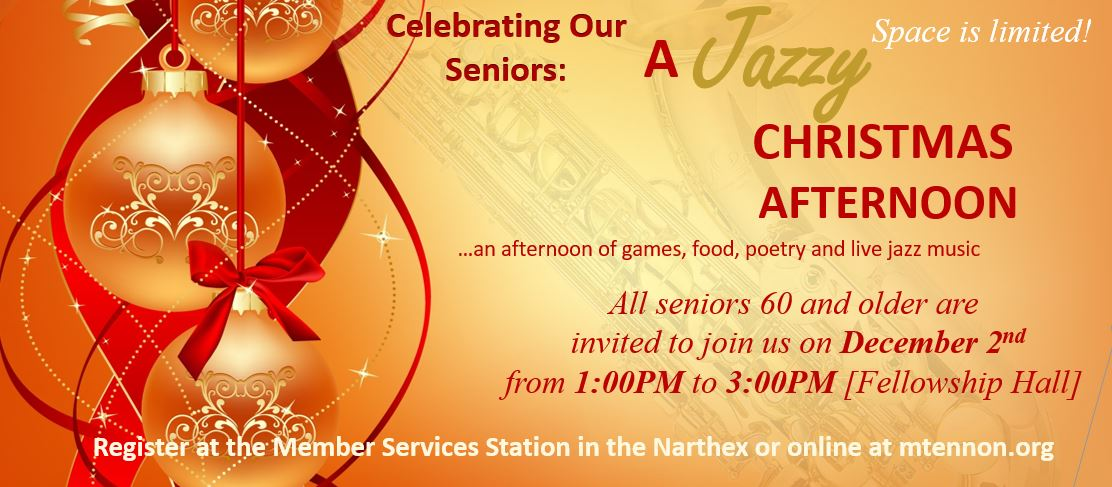 Celebrating Our Seniors Jazzy Afternoon