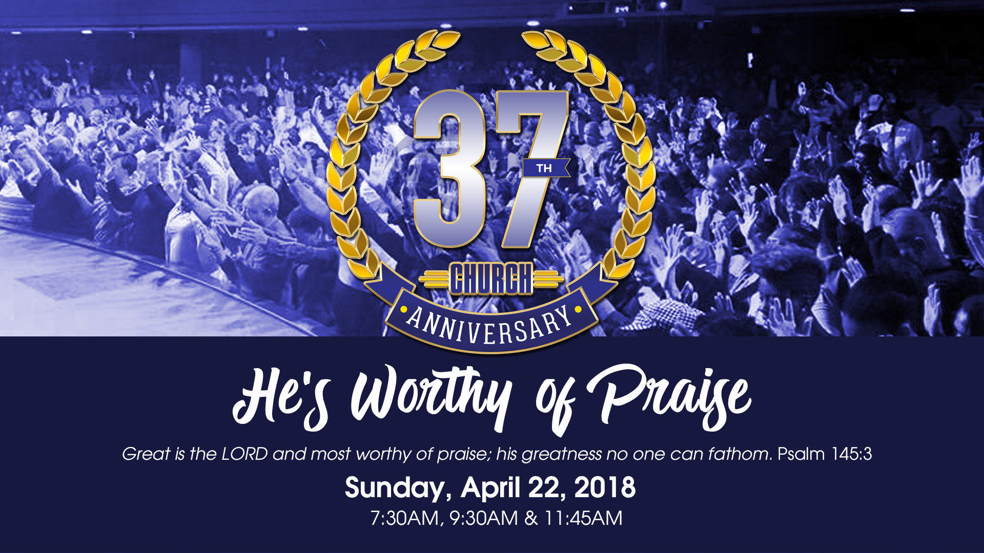 Church Anniversary 2018