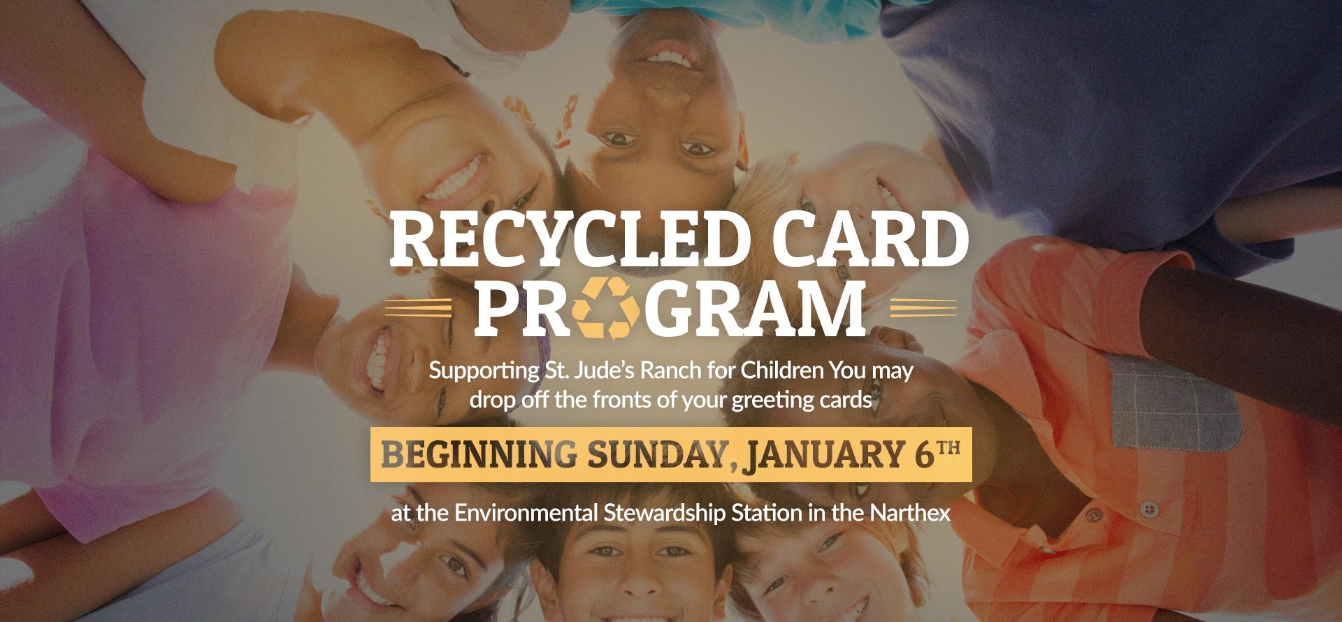 Recycled Card program