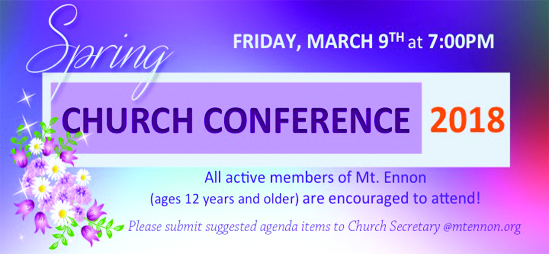 Spring Church Conference