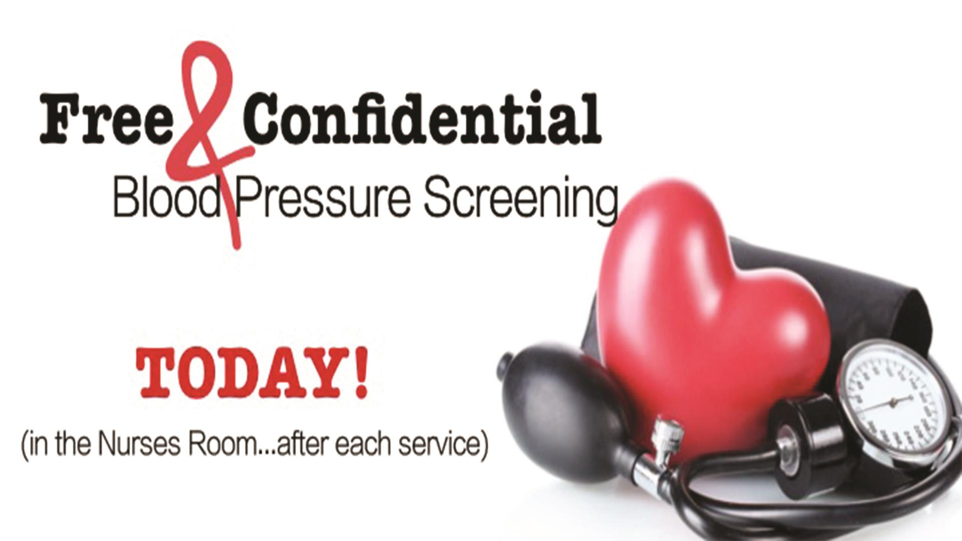 Today Blood Pressure