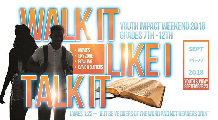 Youth Impact Weekend