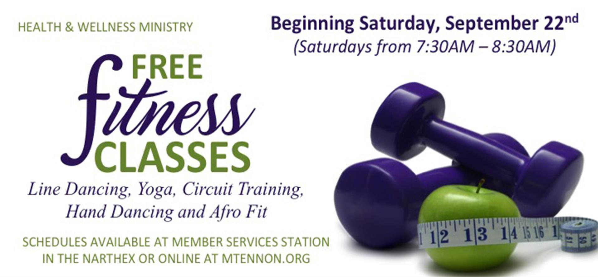 Free Fitness Classes