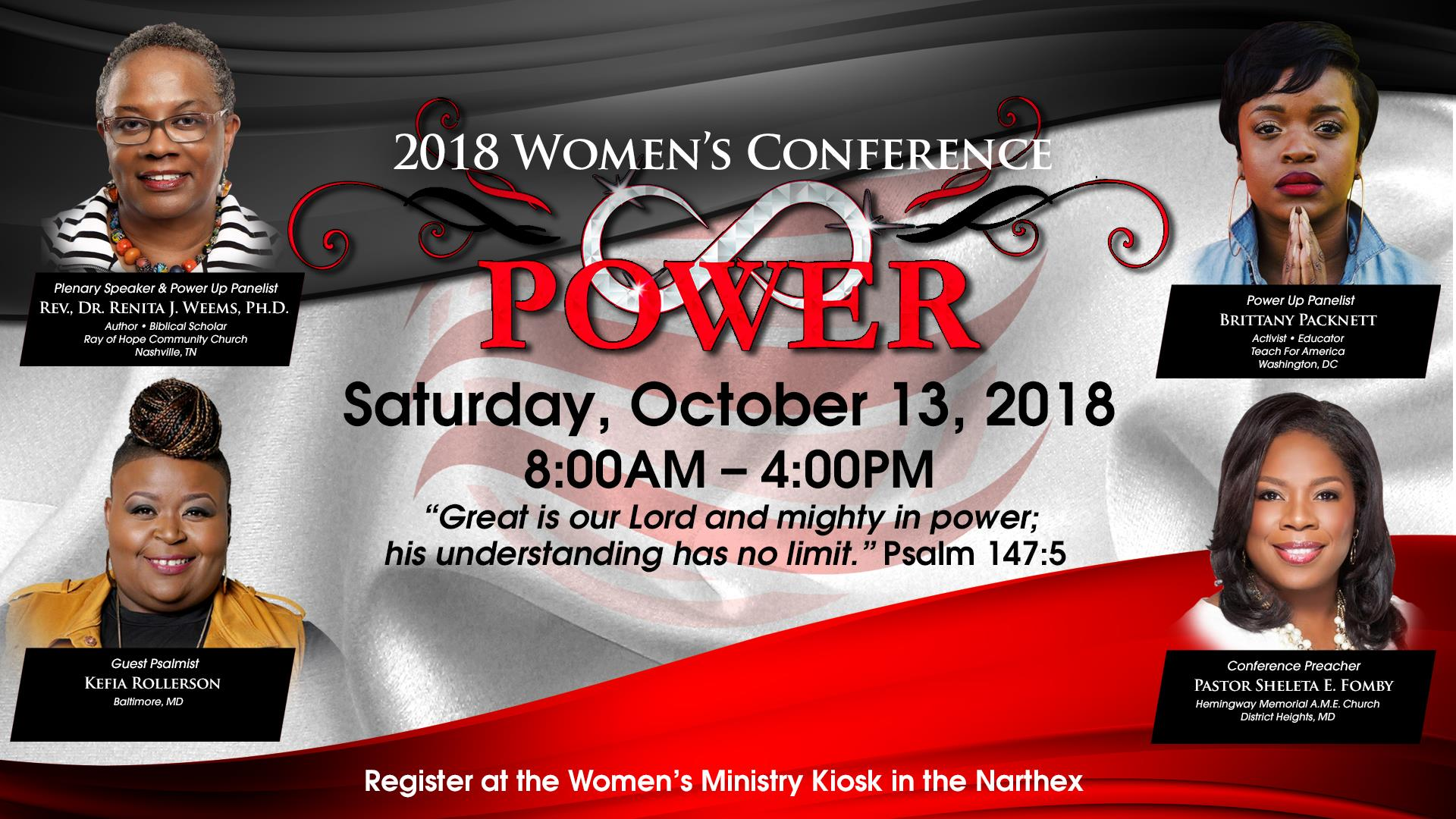 Women's 2018 Infinite Power Conference