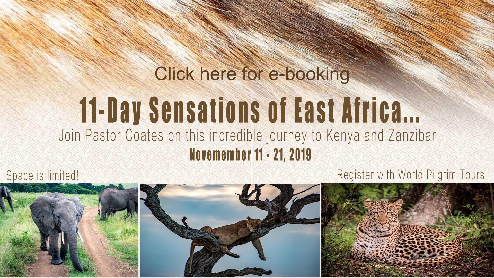 2019 East Africa Trip