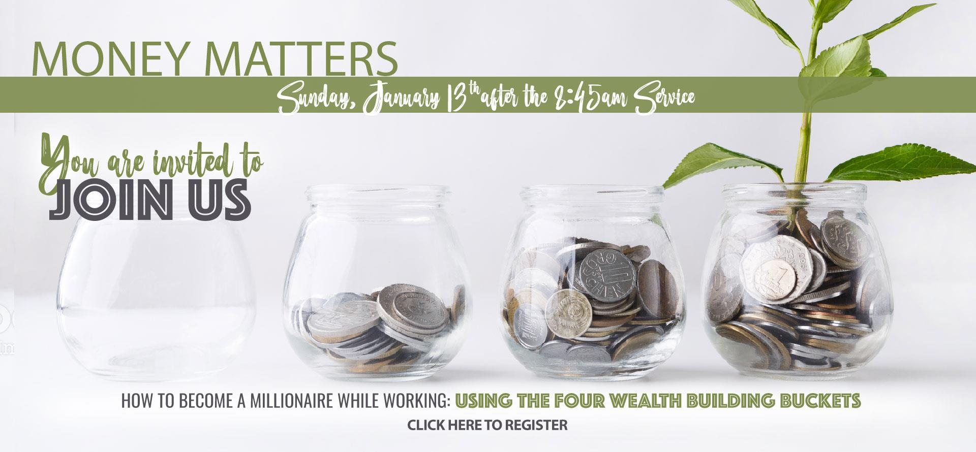 Money Matters - Jan 13