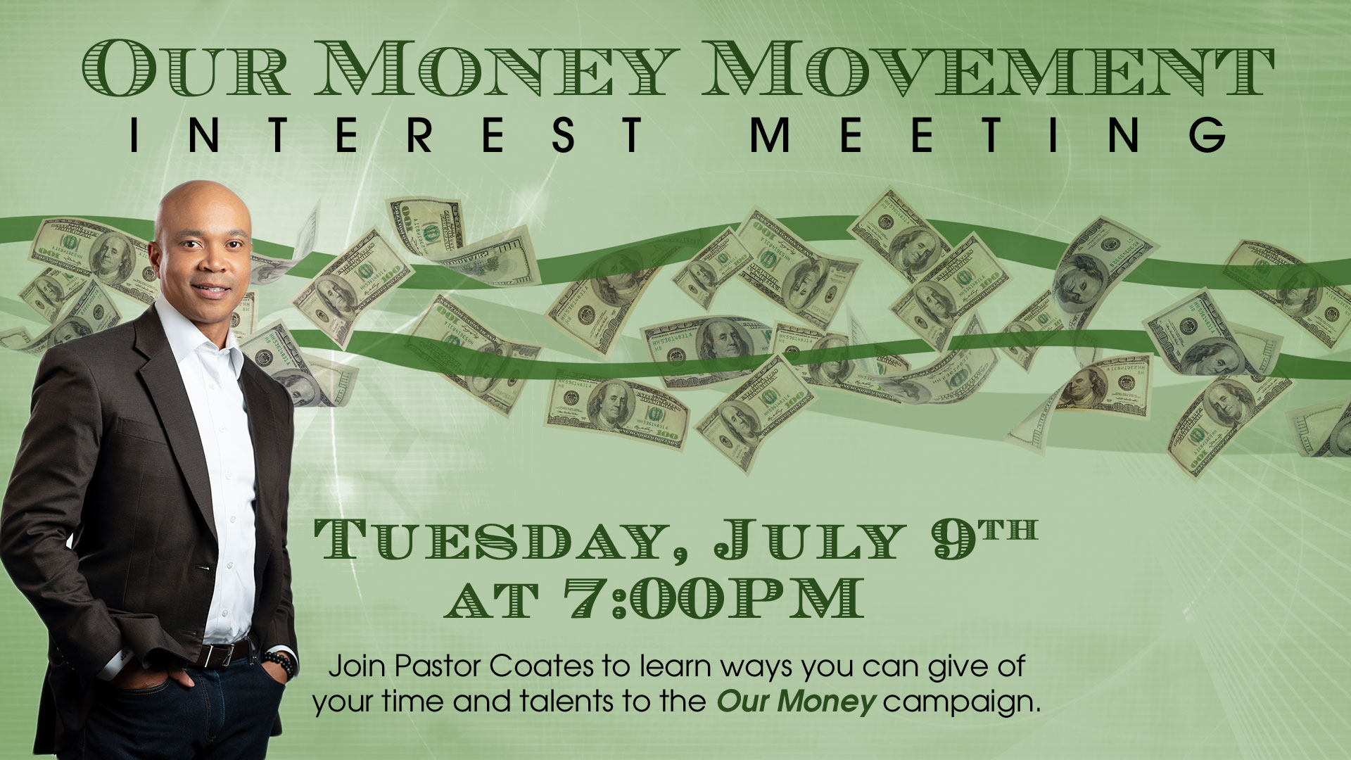 Our Money Interest Session