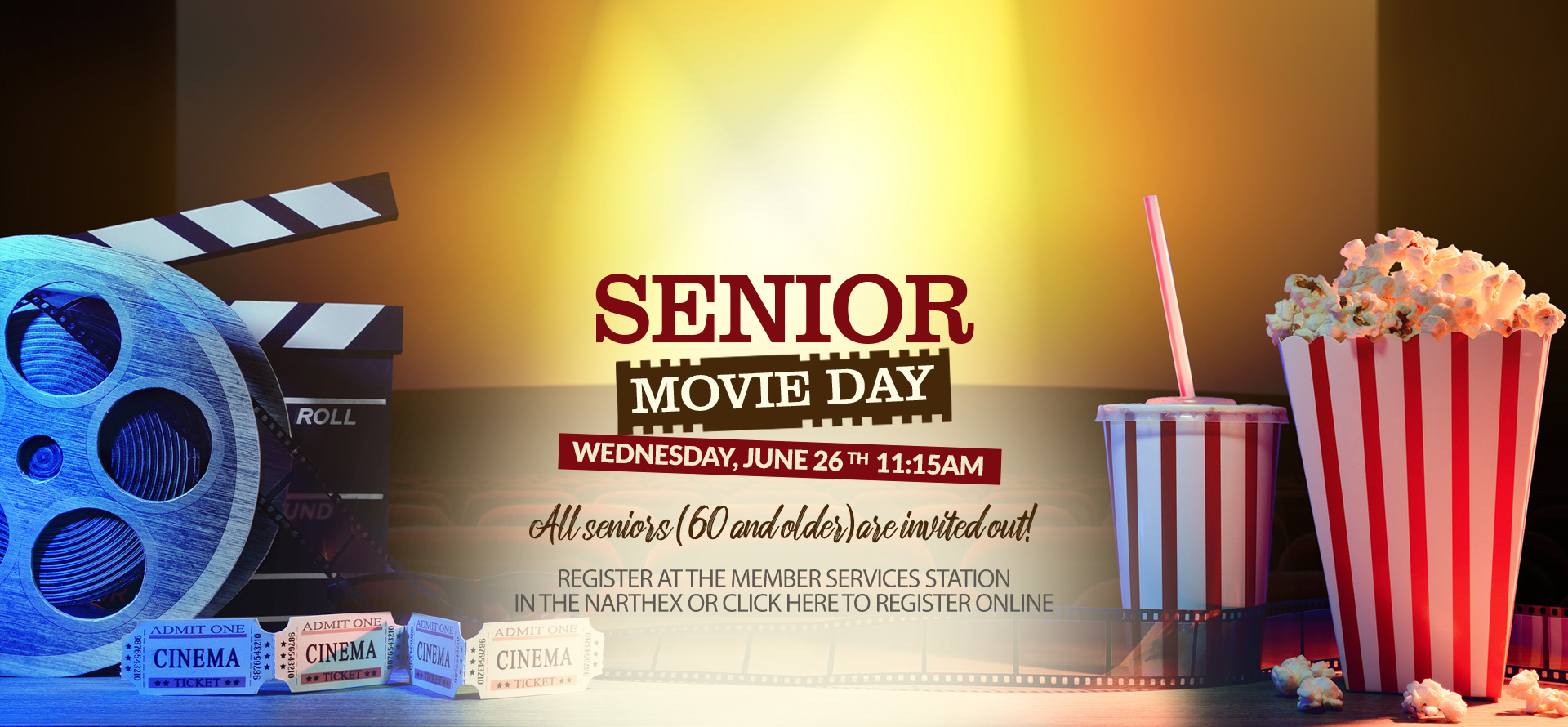 Senior Movie Day