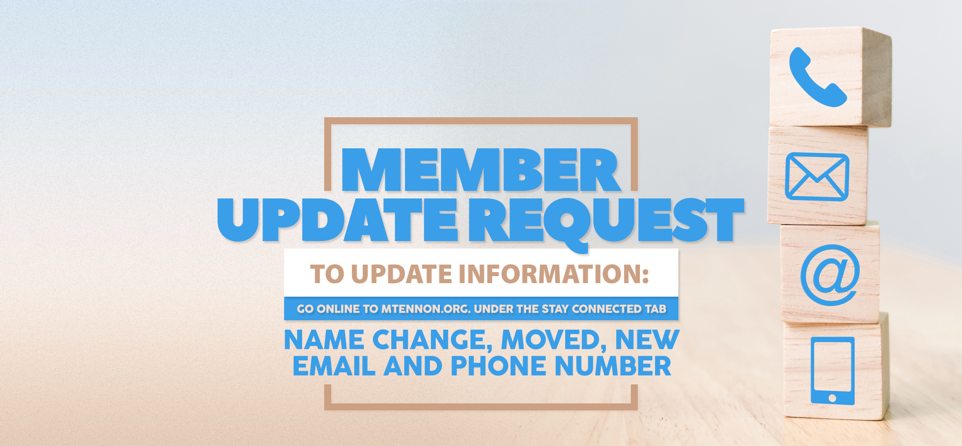 Member Information Update Request - REVISED