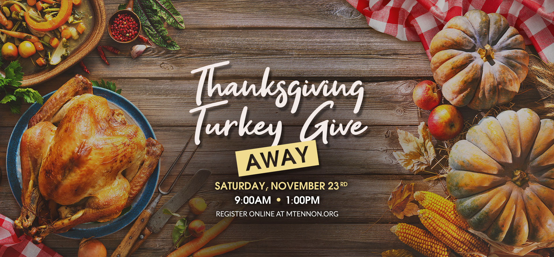 Turkey Give Away