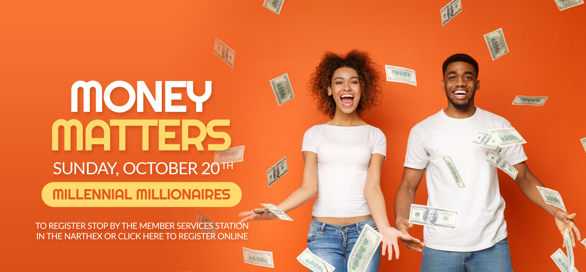Money Matters - Oct. 20