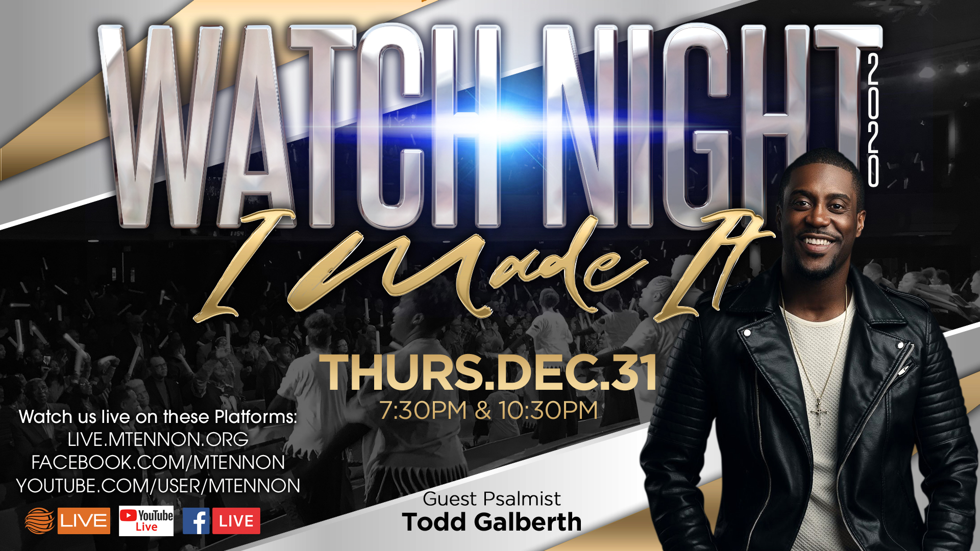 Watch Night - Guest Psalmist