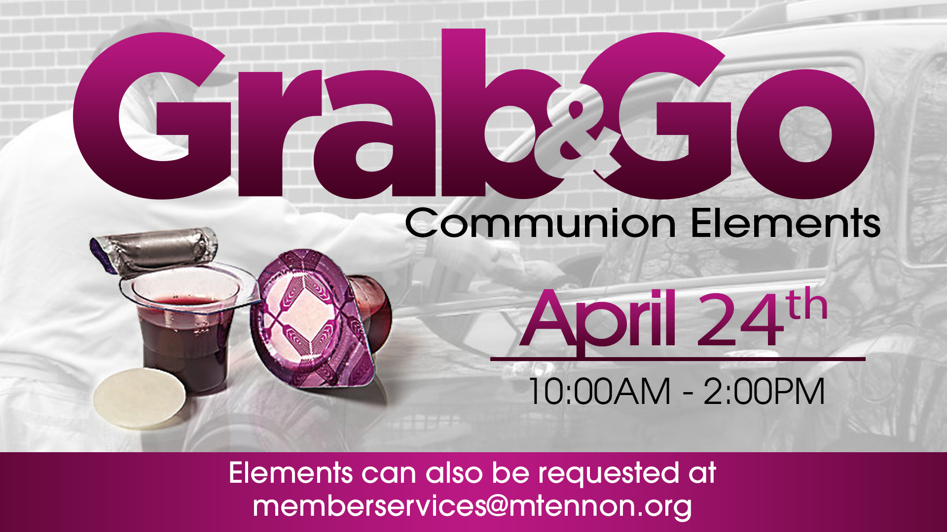 Grab n Go - Communion April 2021