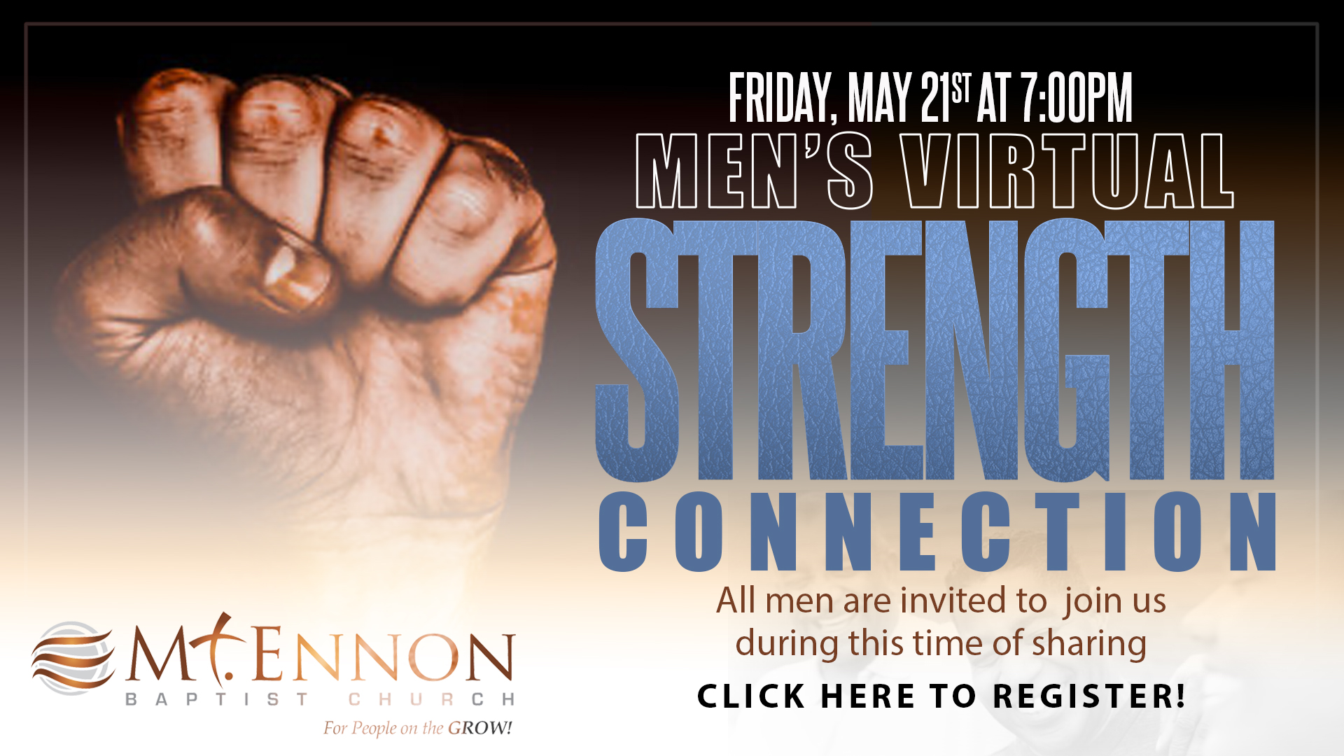 Men's Ministry - Strength Connection