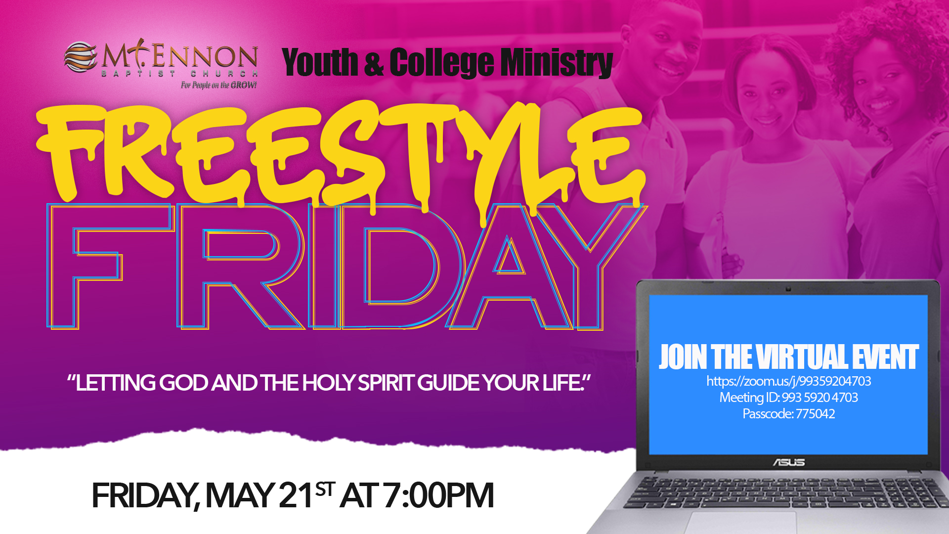 Youth and College Freestyle Friday