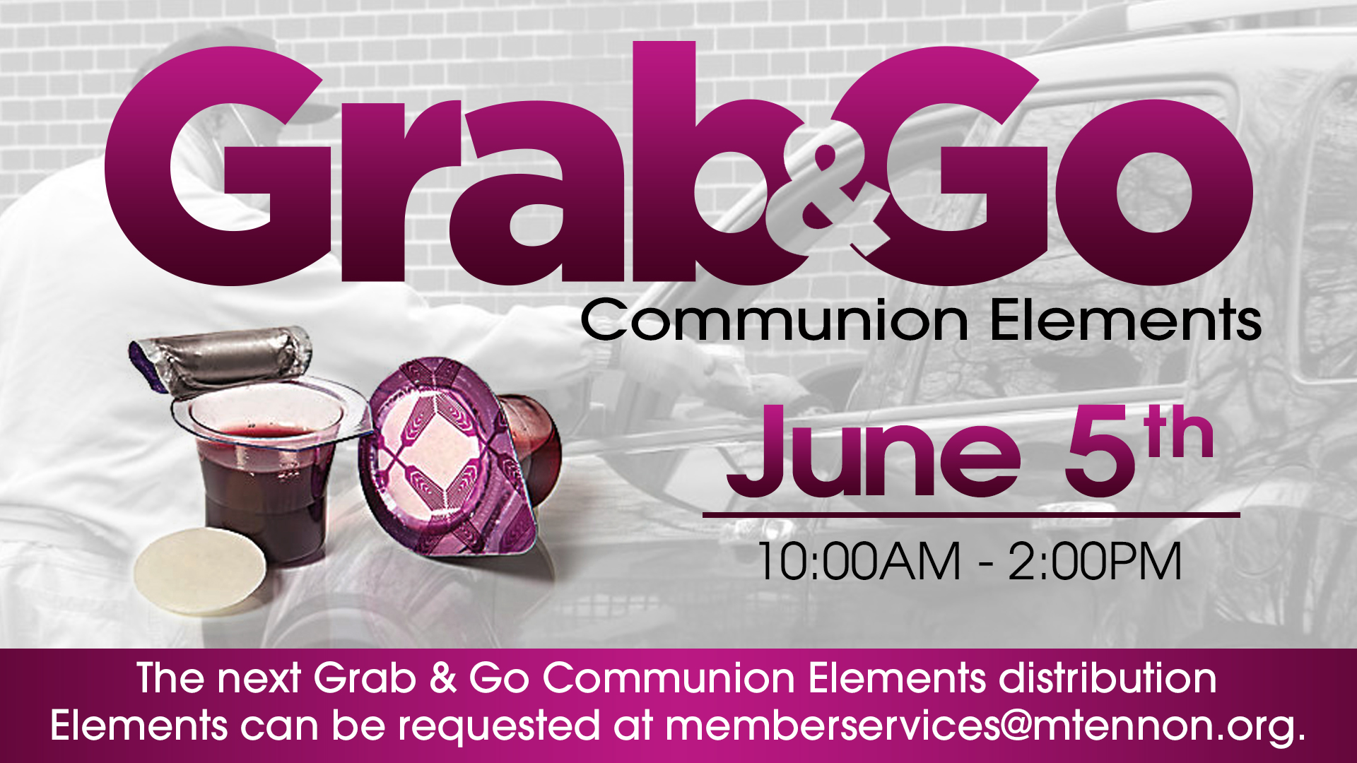 Grab n Go - Communion May 2021
