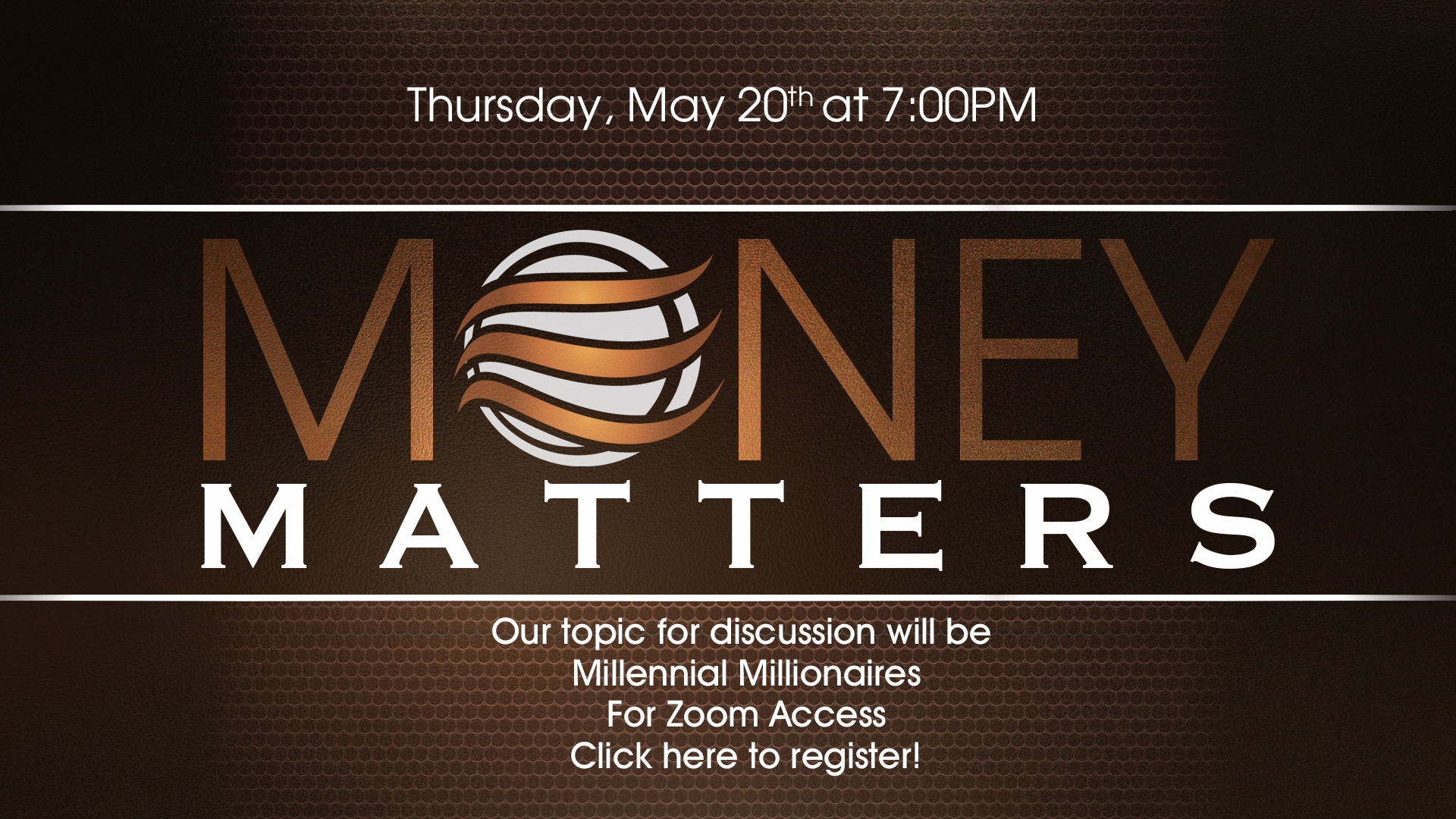 Money Matters - May 2021