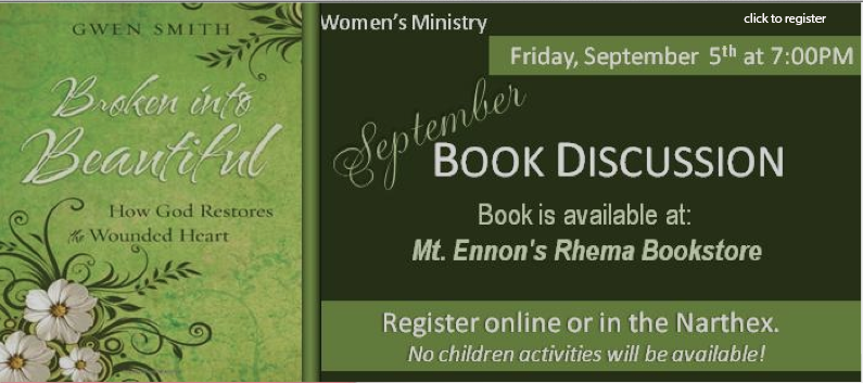 Women's Ministry Book Discussion