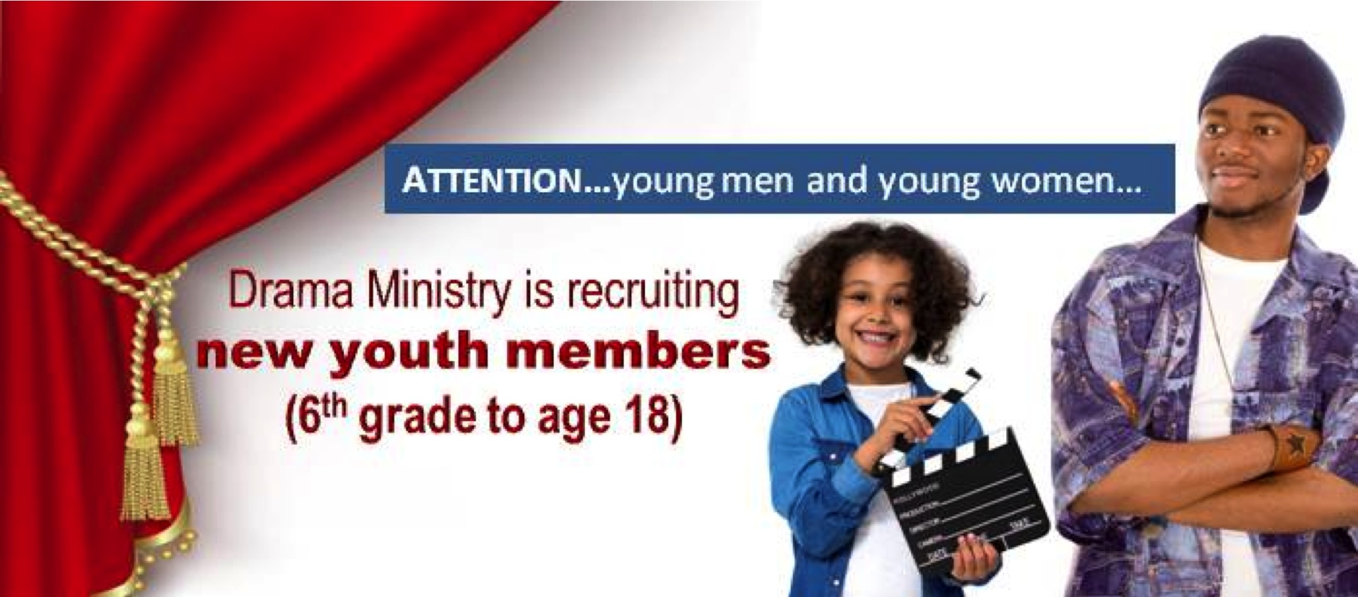 Drama Ministry Recruiting Youth