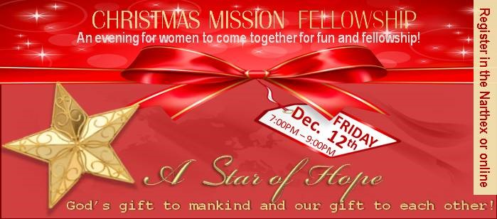 Christmas Mission Fellowship