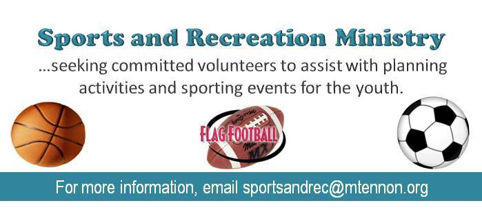Sports & Recreation Ministry