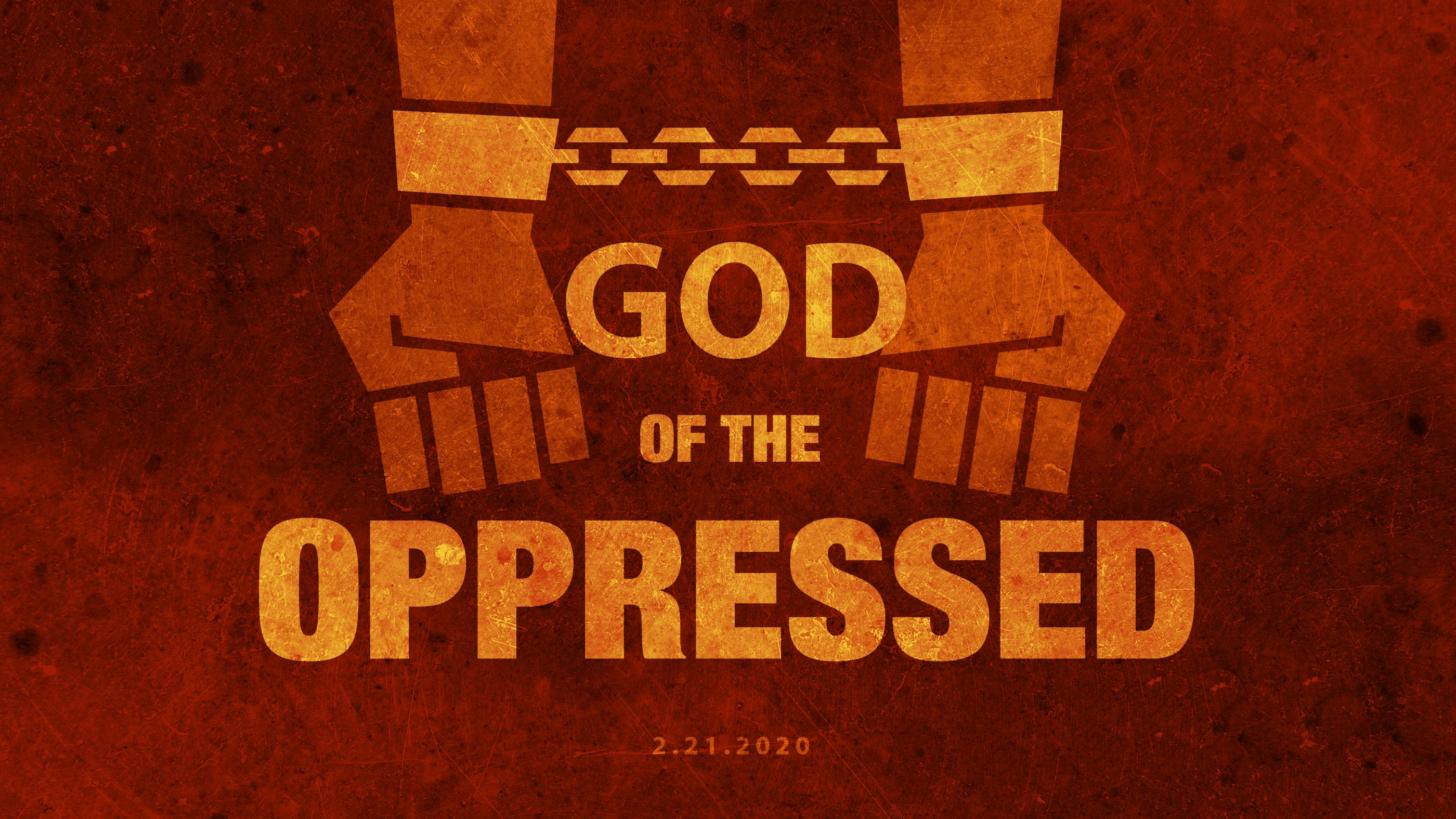 God of the Oppressed 2.21.21