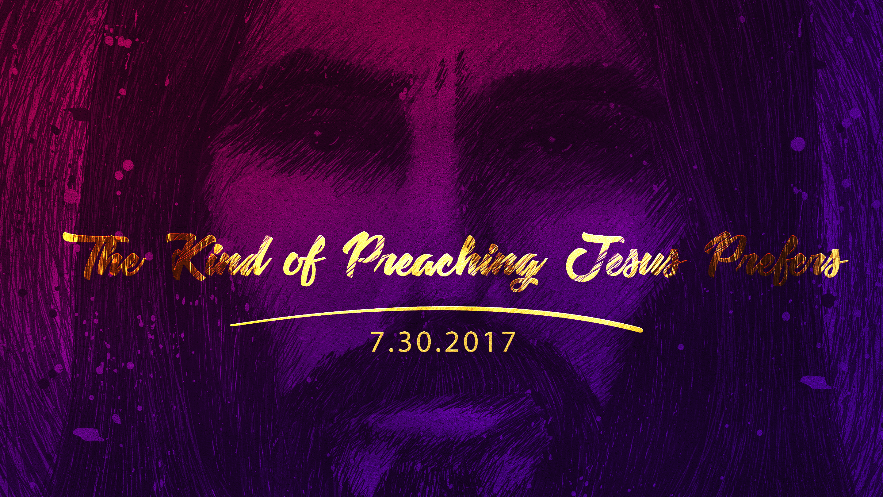 Title – The Kind of Preaching Jesus Prefers 7.30.2017