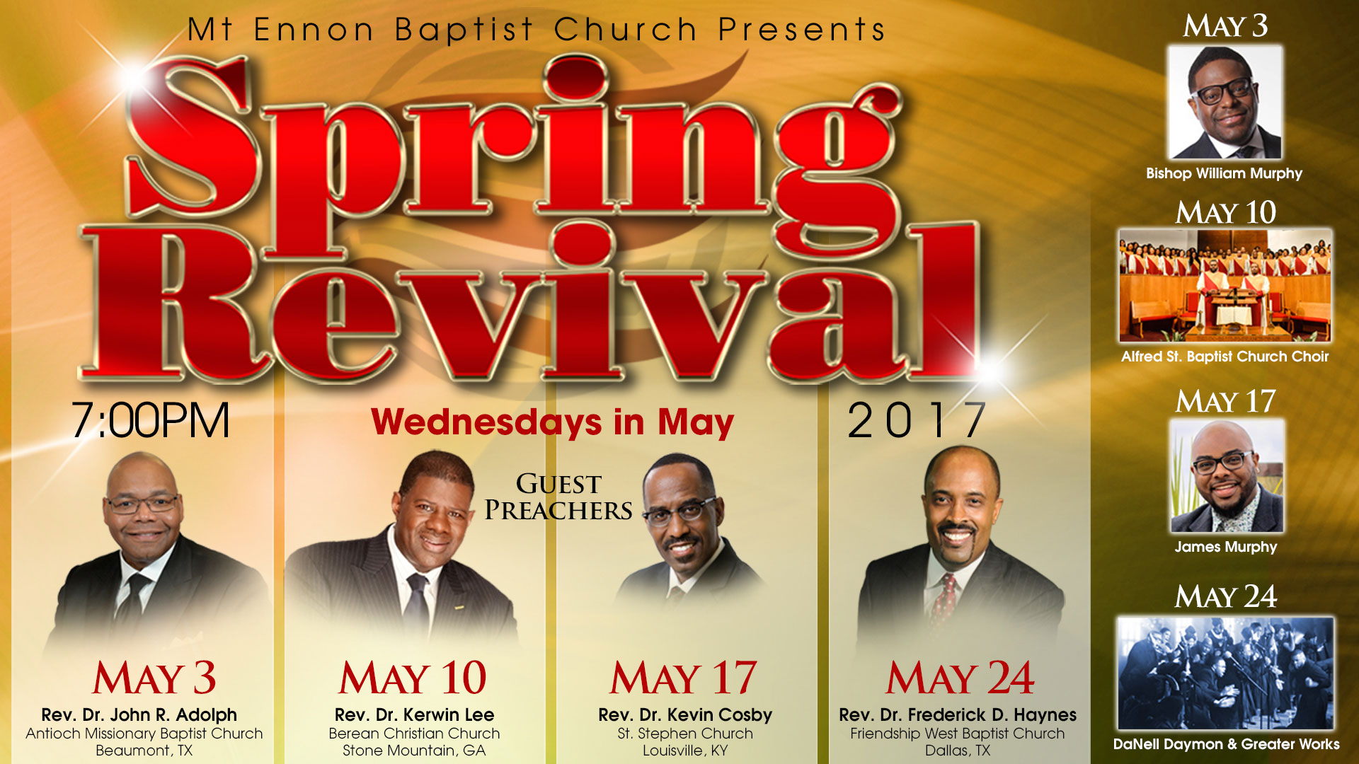 Third Night of Spring Revival 2017
