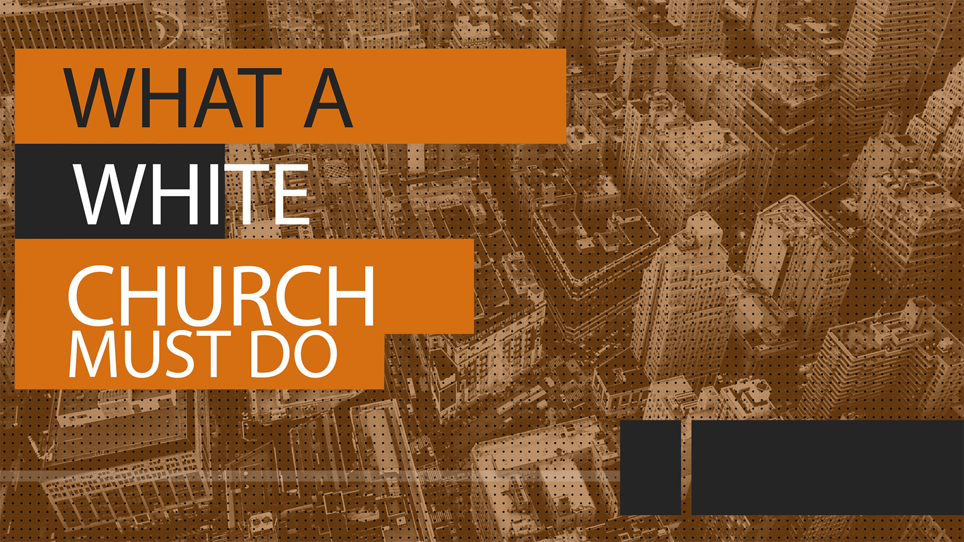 What the White Church Must Do 11.1.2015