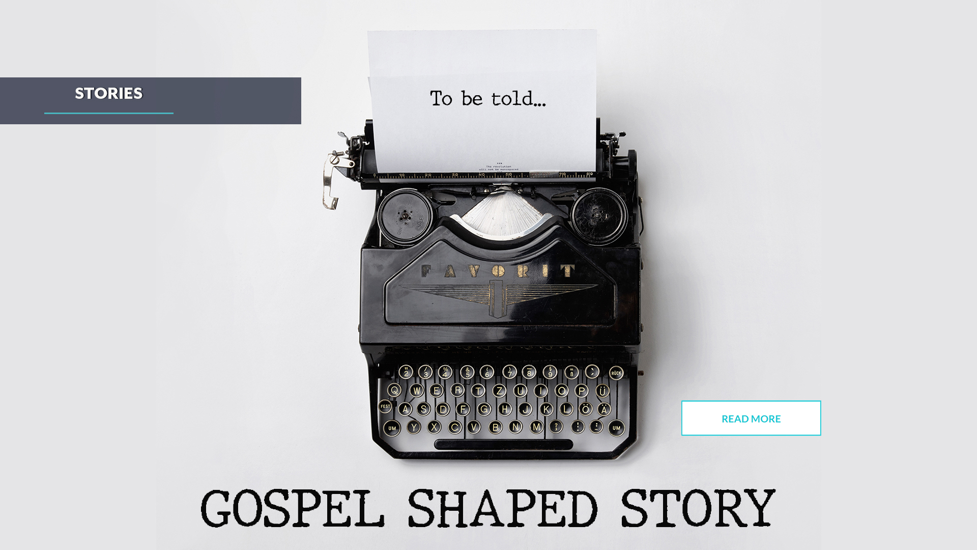 Gospel Shaped Story
